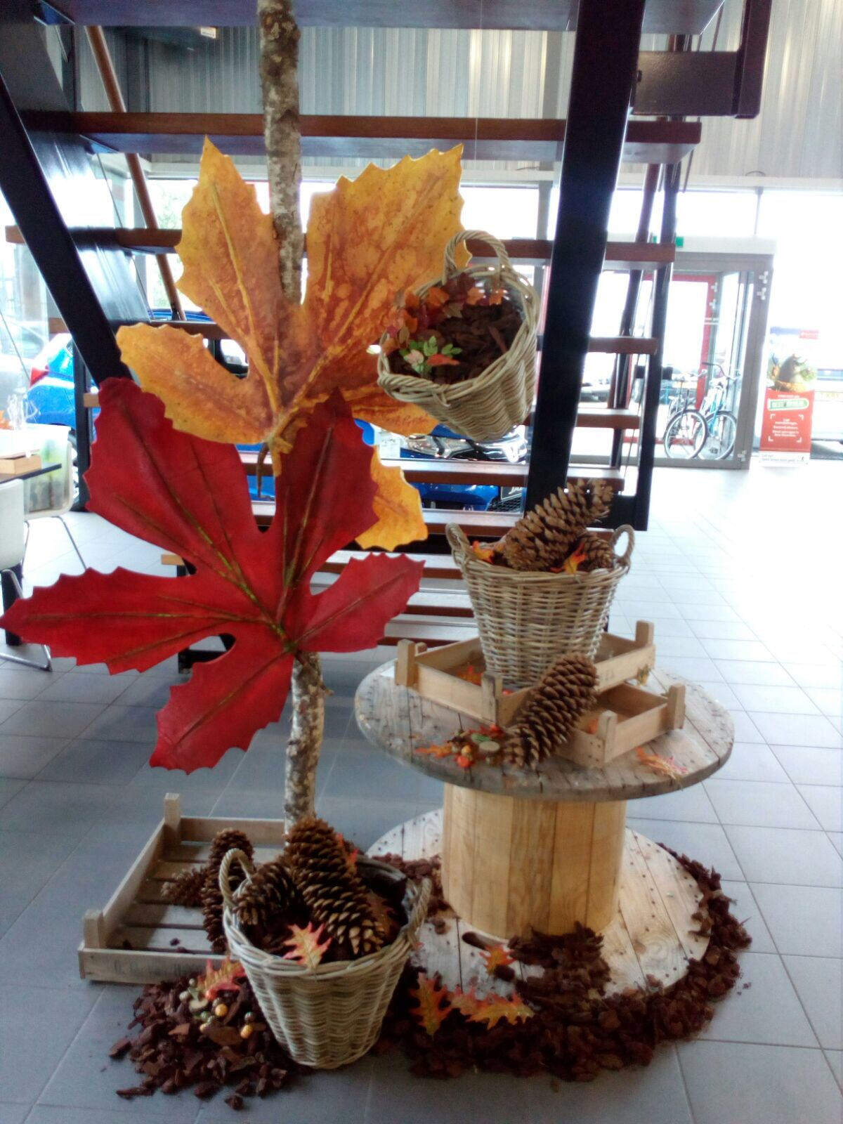 Etaleren herfst decoratie 2017 for Decoratie herfst